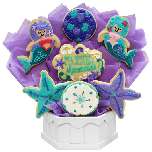 Majestic Mermaids  Cookie Bouquet