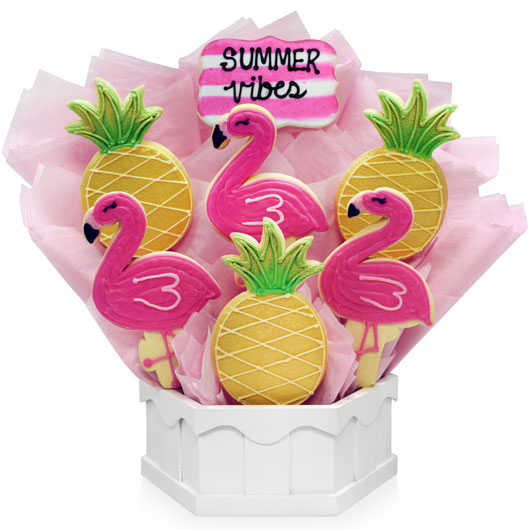 Summer Vibes Cookie Bouquet