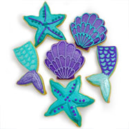 CFA481 - Majestic Mermaids Cookie Favors