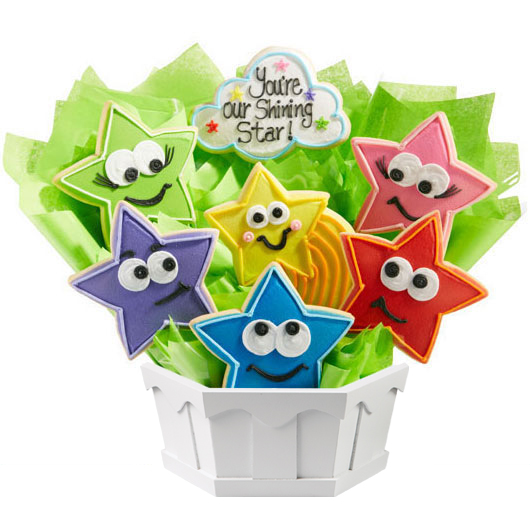 Shining Star Cookie Bouquet