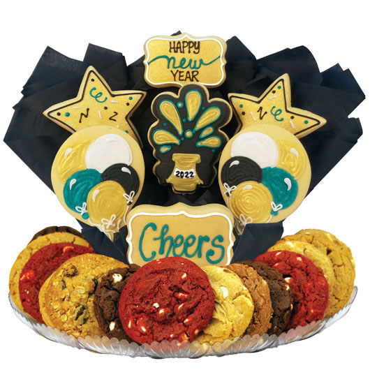 Happy New Year Gourmet Gift Basket