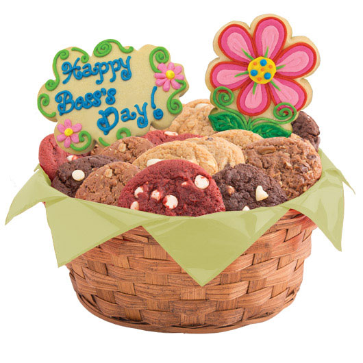 Bloomin' Boss's Week Cookie Basket