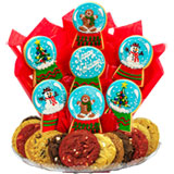 B487 - Christmas Snow Globes BouTray™