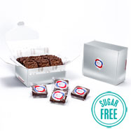 LBBRSF18 - Custom Logo Box – 18 Sugar Free Gourmet Brownies