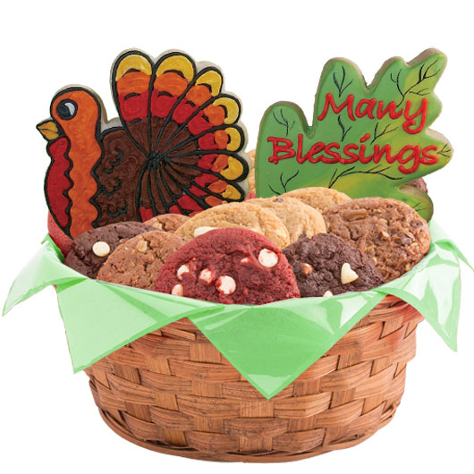 Fall Blessings Cookie Basket