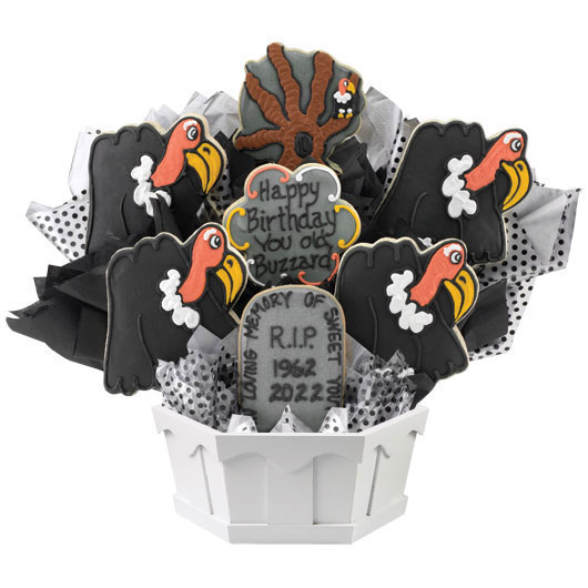 Old Buzzard Cookie Bouquet