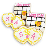 CFA41 - Save the Date Cookie Favors