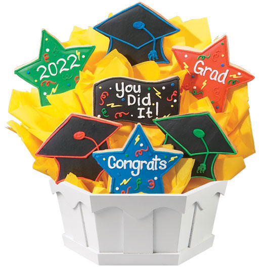 Graduation Celebration Cookie Bouquet