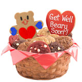 W293 - Get Well Beary Soon Basket