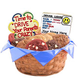 W128 - Drive Your Parents Crazy Basket